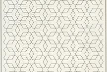 basic of geometrical & islamic paterns / beberapa alternatif patern ini dibuat dasar desain dari ornamen krawangan dan relief GRC bernuansa Islami