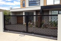 Laser Cut Ideas / Laser cut panels can be incorporated into your automatic gates. Either left open or with a solid or mesh backing. Found your own panels? - Ask if we can put them into a gate design. - Like one? - Ask if we can make it for you.