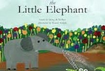 Elephants in Books and Illustrations