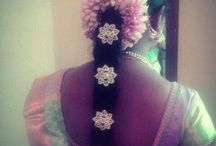 Indian bridal hair style