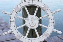 Ships Wheel inspiration / by Jessica Rhoades