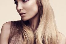 plaited hair