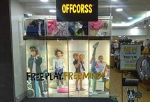 Visual merchandising vitrinas kids