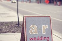 Mariage/ Wedding / Inspiration pour mariage.