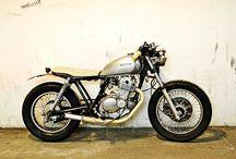 Cafe racer. Suzuki gn250
