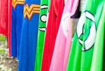 Superhero Party Ideas. / by Tina Seitzinger