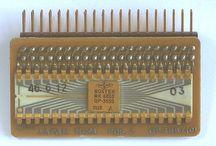 Vintage Electronic Components / various vintage electronic components from my collection