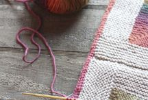 Knitting: blankets and throws