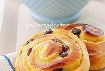 Brioches e muffin