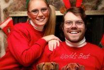 family christmas photo ideas! haha