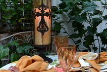 BNOTP: Fall Table Settings (Tablescapes) / Get inspired to set a Fall Table from Between Naps on the Porch