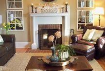 Main level decorating / by Brandi Applegate