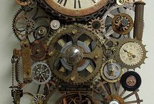 Steampunk stuff / Steampunk designs and interesting things...mostly cogs probably!