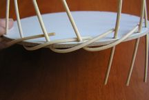 Pletení z papíru - dna