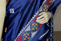 Kutcher work saree