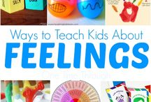 Ways to teach kids about feelings / Social emotional