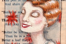 Book Page Art / by Candace Knoebel