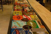 bar top ideas / by Jaime Collins Bickford
