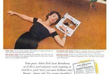 Vintage Ads - Home Decor / Vintage Ads / by Eloisa Magnani
