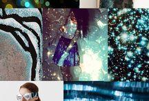 Trends kleuren moodboards