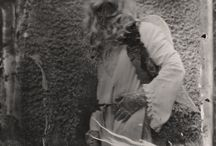 There was an Angel  by Jan Kratochvil / Collodion wet plates by Jan Kratochvil