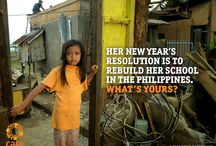 New Year's Resolutions / CARE is on the ground in 84 countries around the world helping women & children fight poverty & live to see their next new year.