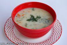 Sebzeli çorba / Diyet