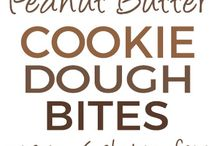Chickpea chocolate chip cookie dough bites