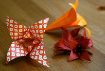 Papuches, origami & DIY