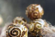 Ceramic beads by Valentina Fadeeva / ceramic beads and jewelry by me.