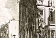 Bernard Leach drawings etchings