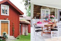 Hus och färgsättning