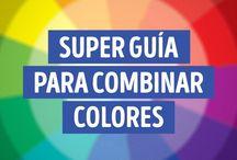 Guía para combinar Colores . Excelente. Cópienlo.