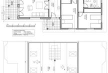 Planos desde 200 m2 hasta 300 m2 / Planos constructivos de viviendas desde 200 m2 hasta 300 m2