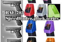 RAE-703 Glock 17l, glock34 Glock17 Glock19 Glock26  Speeadloader / speedloader