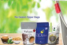 Re-Sealed Zipper Bags