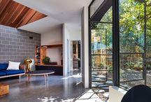 Living room vs garden
