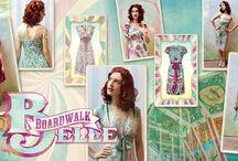 Boardwalk Belle / Vintage seaside glamour