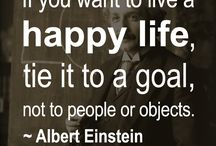Einstein words