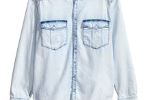 Denim shirt look (^^,)