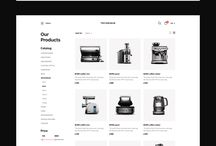 Web Design Inspiration | E-commerce