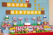 Super Mario Geburtstag- Party