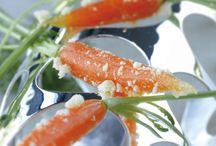Havtorn / Gulerødder i havtorn gele