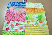 Quilted Hot Pads / Fun and Happy home made hot pads. / by Richard and Tanya Quilts