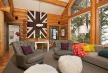 Log Homes Decorating