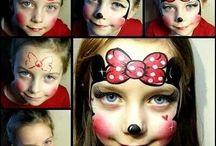 malování na obličej / malování na obličej