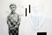 Paintings {Rodrigue Delattre}
