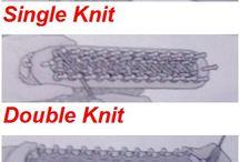 knitting loom straight on