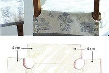 Cartamodelli cuscini sedie