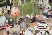 WEDDING | Centerpieces & Dessert Tables & Cakes & Receptions & Invitations... / Basically everything which is pretty awesome and in linked with the big day.